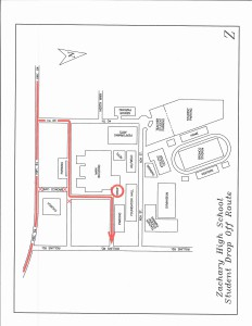 ZHS Drop Off Map
