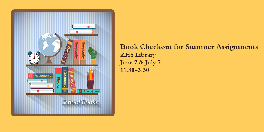Summer Book Checkout Dates